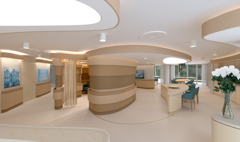 Architektur für Altenheime, Gesundheitszentren und Pflegeeinrichtungen