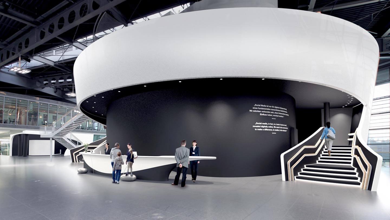 Architektur für Arbeitsräume, Büros und Firmenzentralen